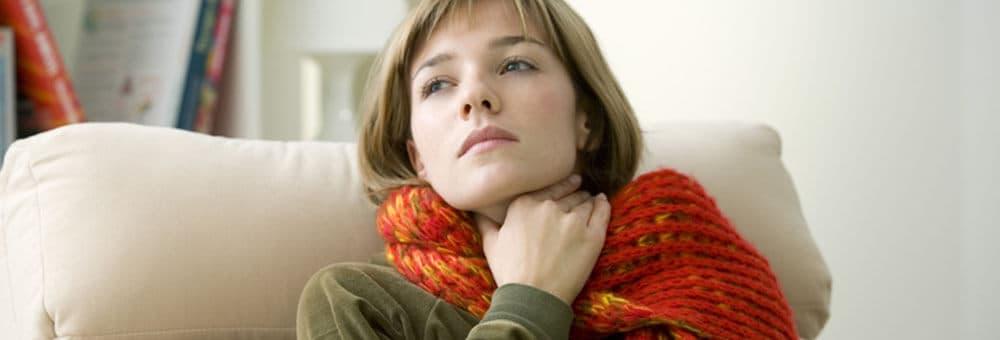 Abbildung zu Halsschmerzen