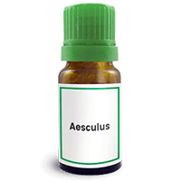 Abbildung des homöopathischen Einzelmittels Aesculus