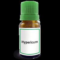 Abbildung des homöopathischen Einzelmittels Hypericum