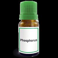 Abbildung des homöopathischen Einzelmittels Phosphorus