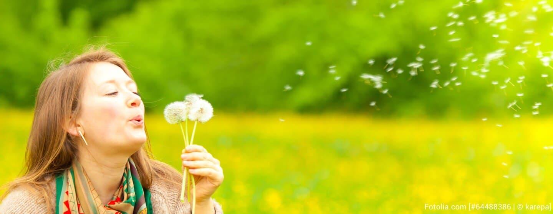 Frühling: Die Heuschnupfenzeit beginnt